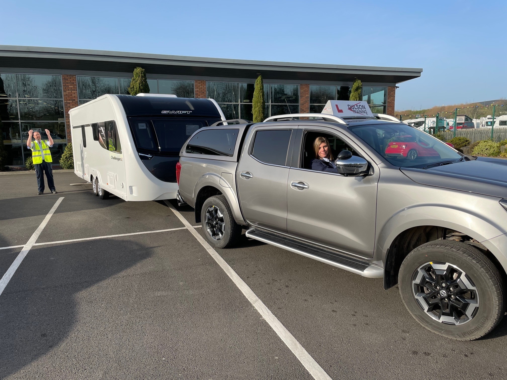 The end of the B+E car and  trailer test, is it safe?