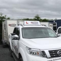 New Navara's at Dulson Training for Trailer Towing and Tests