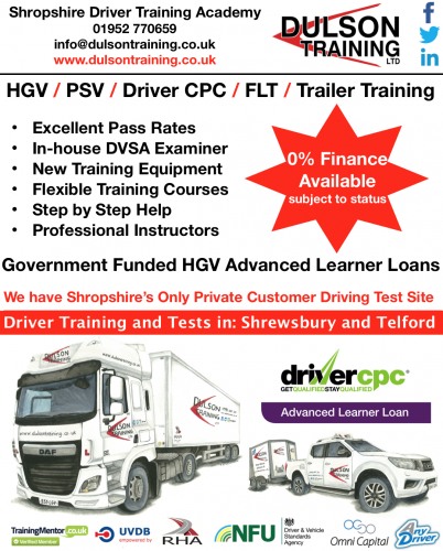 Becoming a Professional Class 2 or Class 1 HGV Driver