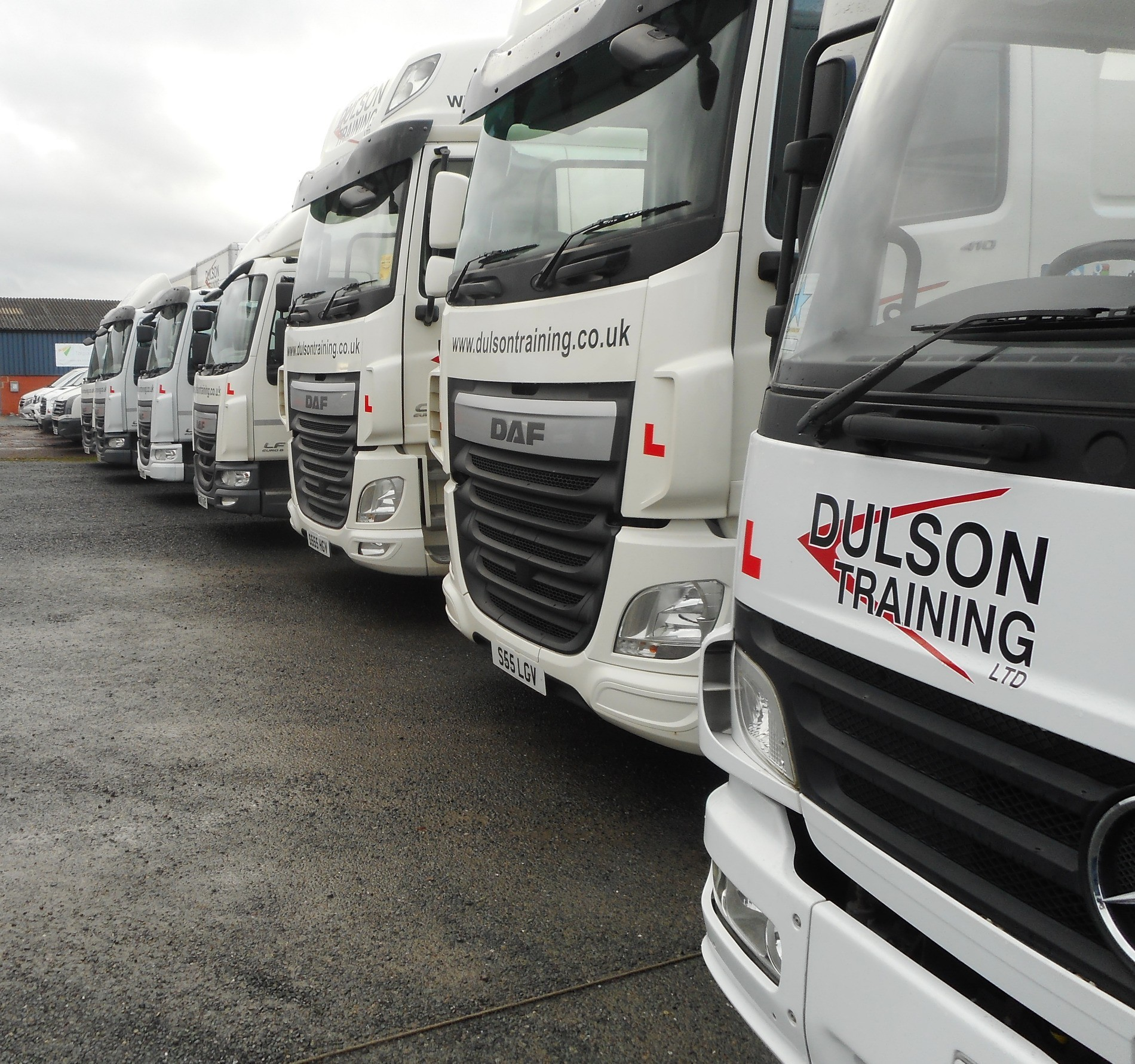 Very Busy times!! Dulson Training Ltd plugging away...
